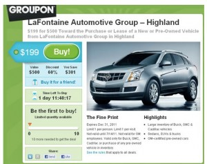 Groupon LaFontaine Deal